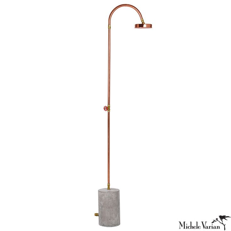 outdoor shower hook up to hose Materials: water tank, plumbing fittings, wood, nails, hose bibb  we can happily  use a solar outdoor shower from may to september  you could build an  elaborate showering platform with built-in hooks and shelves and.