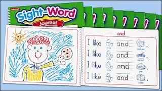 free printable: kindergarten sight word journals