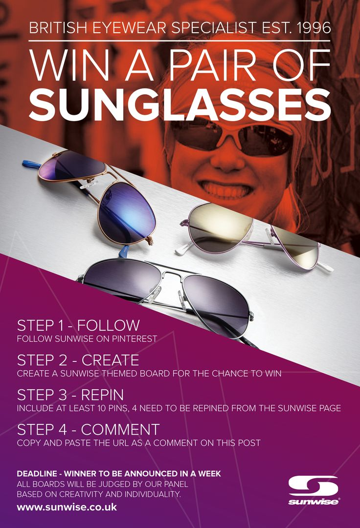 #contest #enter #competition #creative #sunglasses #sunwise #win