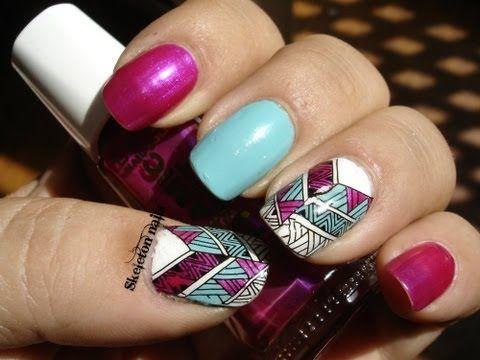 DIY: Haz tus propias pegatinas para las uñas/ Create your own stickers at home #Nailart