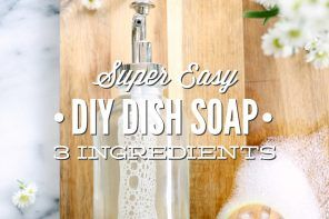 Super Easy DIY Dish Soap: 3 Ingredients - Live Simply