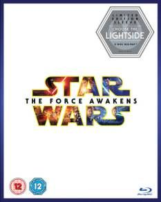 Star Wars The Force Awakens DVD Box Cover Artwork Lightside