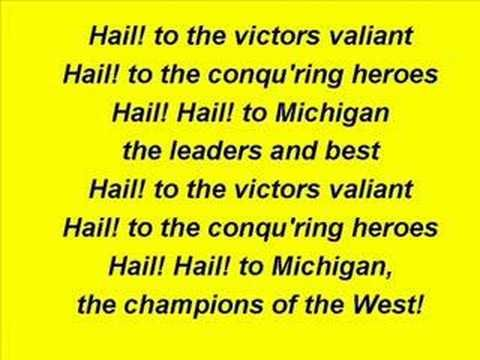 University of Michigan - Fight Song- Michigan is my favorite college team. I especially like their basketball and Trey Burke. This song is awesome!
