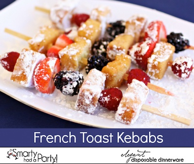 French Toast Kebabs #Recipe By Smarty Had A Party