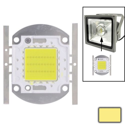 [$5.85] 30W High Power Warm White LED Lamp, Luminous Flux: 2500lm