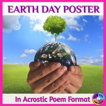 Celebrate Earth Day with this colorful poster that presents information about the holiday and ways to care for the environment. Using language that your English Language Learners should be able to comprehend, you can display this poster in your classroom or