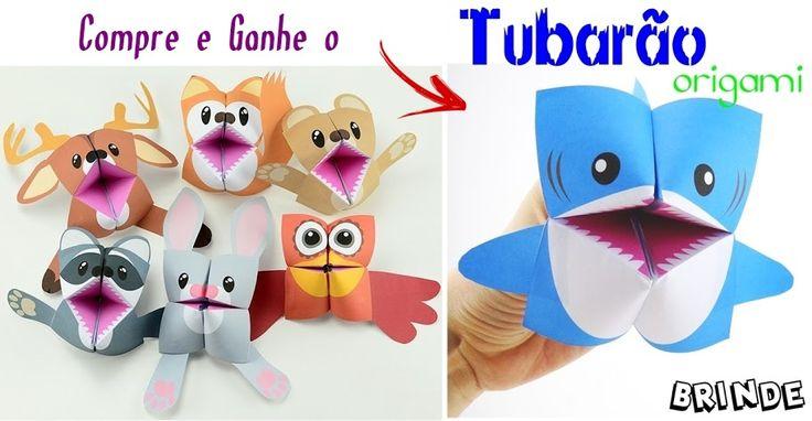 Bichinhos de Origami para Crianças