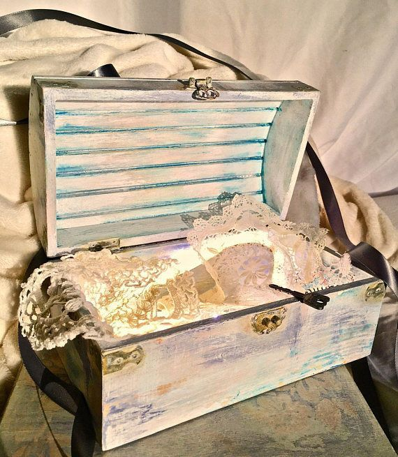 A Baby Time Capsule, Treasure Chest (for First Birthdays), Memory Box That