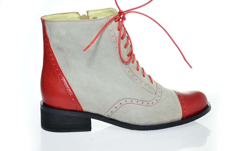 Ghete Oxford de pantoficaro Breslo