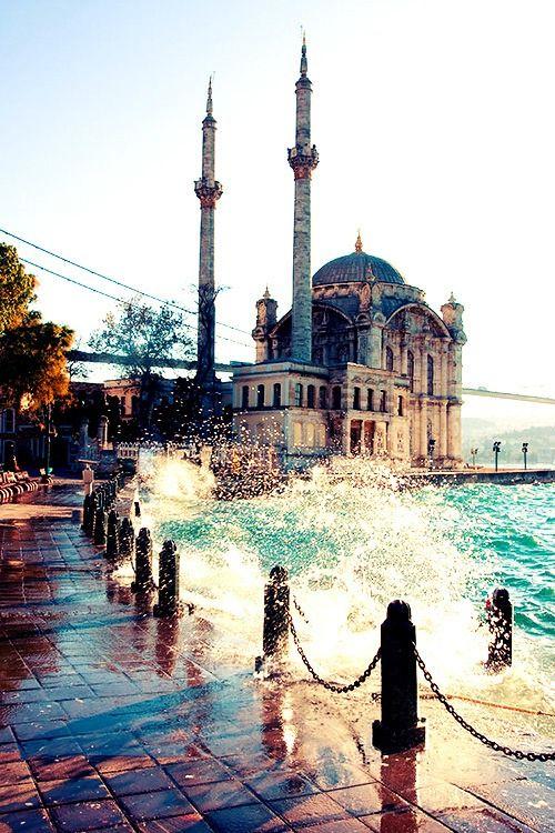 Ortaköy #ortakoy #mosque #istanbul #mustsee #sea