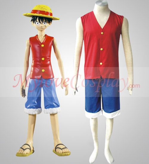One Piece Monkey D. Luffy Cosplay Costume  $69.99