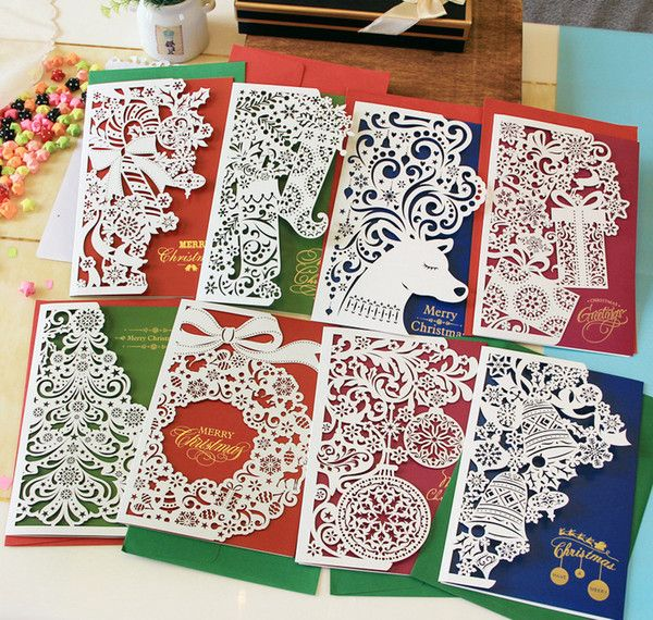 I found some amazing stuff, open it to learn more! Don't wait:http://m.dhgate.com/product/paper-cut-christmas-cards-greeting-three/212931985.html