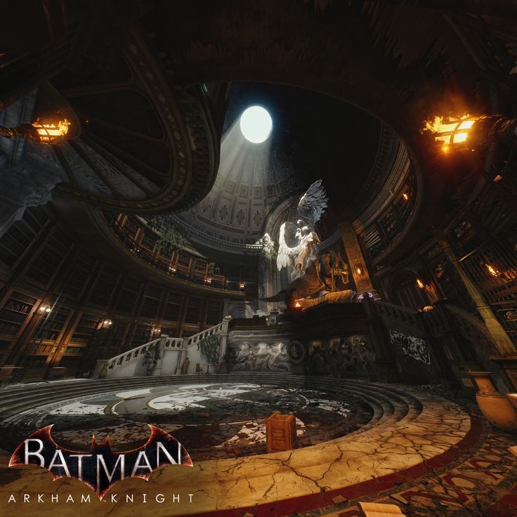 Batman: Arkham Knight - A Flip of a Coin DLC Lighting, Ashley McKenzie on ArtStation at https://www.artstation.com/artwork/8mPkO