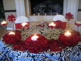 1065 Best Dream Wedding (Red, Black, And White Damask Theme) Images On  Pinterest | Marriage, Wedding Stuff And Red Rose Wedding