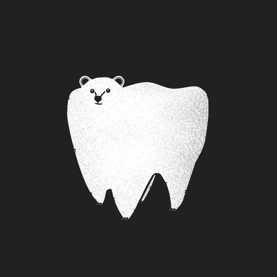 You see what they did there? It's a molar bear. Get it?