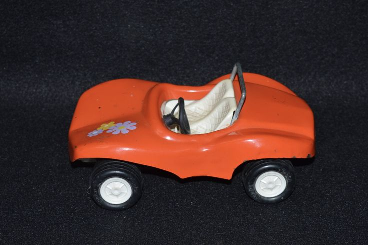 Vintage Tonka Toy Car, Diecast Steel Metal Dune Buggy, Tonka Toys Made in U.S.A,  Orange Toy Flower Power Tonka Car, 7 Inch Tonka Dune Buggy by FabulousVintageStore on Etsy