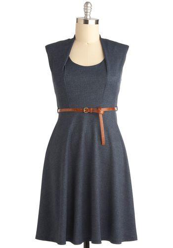 Now and Denim Dress, #ModCloth