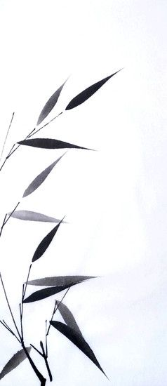 Chinese Ink Bamboo, tattoo idea
