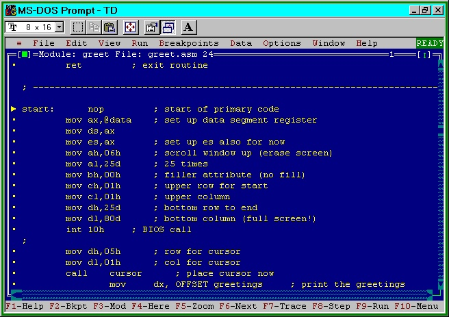 Tasm is required for Assembly Language, It is assembly language compiler like MASM. In windows 8 & windows 7 many old compiler like masm,tasm,turbo c++ won't work. Basically Dosbox is required to run such compiler & we require to mount files in Dosbox. It's complected to do for new one. In this post I am sh