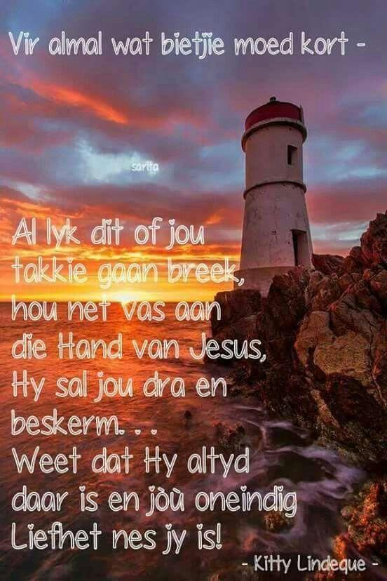 Hou vas aan Jesus
