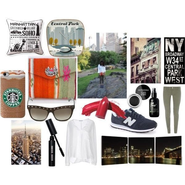 """nyc look"" by terelopi on Polyvore"