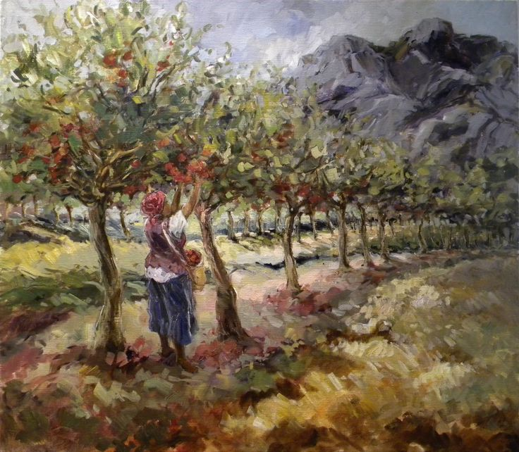 Aviva Maree. Picking Apples