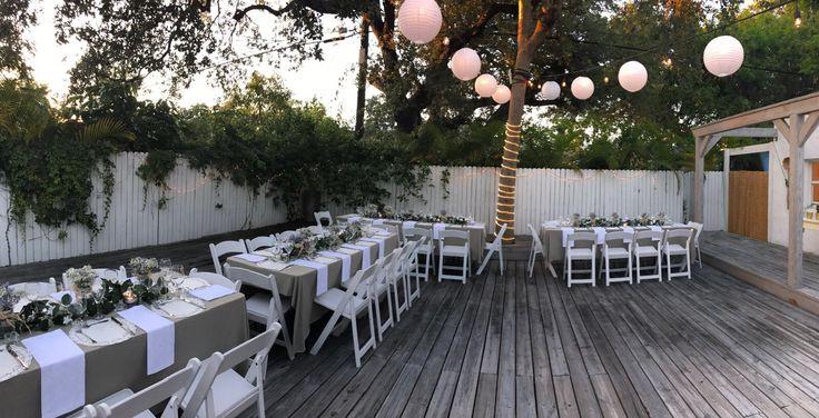 Garden Wedding.