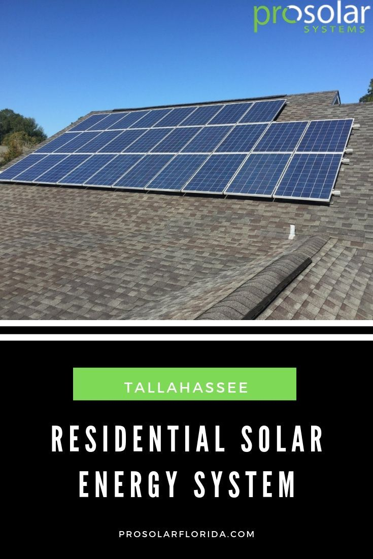 Tallahassee Residential Solar Power Florida Residential Solar Solar Solar Energy