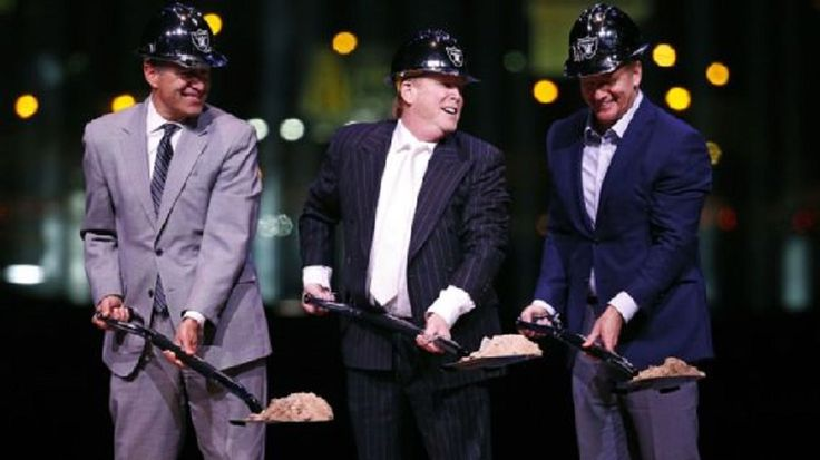 The Oakland Raiders' impending move to Las Vegas by 2020 took another step closer to reality with Monday's groundbreaking ceremony, an event attended by close to 1,000 guests, officials and media....