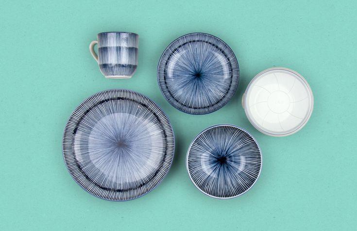 Tokusa Japanese Tableware Set - Nendo