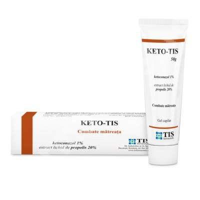 "Keto-Tis gel capilar, 50 g, Tis Farmaceutic<br /><span class=""small"">[6422068001111]</span>"