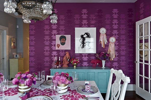 Room Inspiration of the Day: She's Radiant | Sous Style