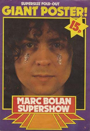 SUPERSHOW POSTER MAGAZINE - MARC BOLAN