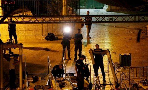 Israel retira detectores de metais de Esplanada das Mesquitas