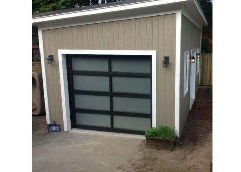 Urban Garage Garage Kits 12x24 With Canexel Khaki Slidings In Scarborough Ontario Id Number 167579 4 Garage Garage Plans With Loft Backyard Sheds