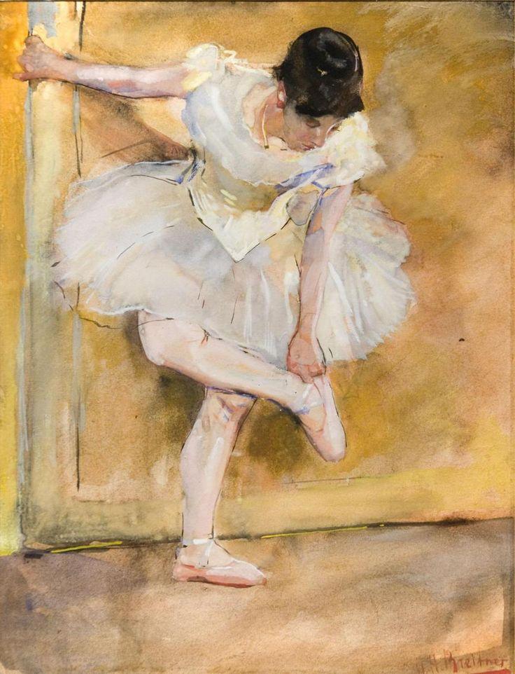 George Hendrik Breitner - Ballerina