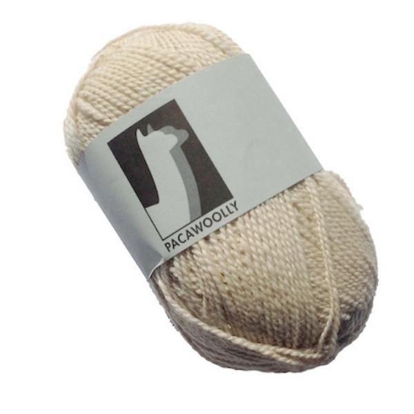 Pacawoolly Adagio White, 100% Australian Alpaca, 4 ply, 50g - I Wool Knit