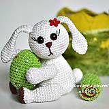 Návody a literatúra - Veľkonočný zajačik - návod na háčkovanie - 5737101_