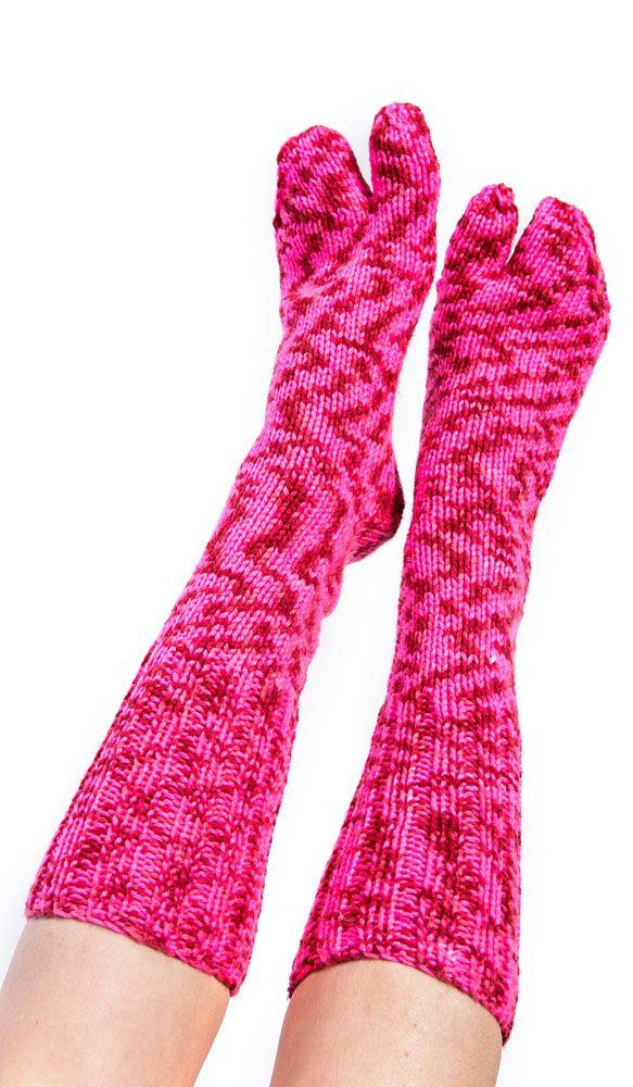 розовые носки из Непала, шерстяные гольфы, носки с пальцами, pink socks from Nepal , woolen socks, socks with his fingers. 660 рублей