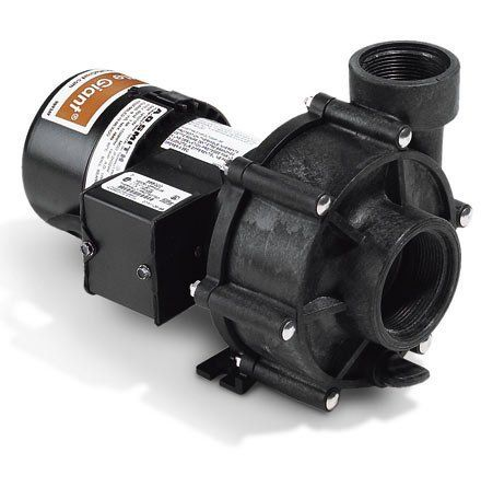 Out-of-Pond Pumps 1/8 HP 4260 by Little Giant. $479.99. Energy-efficient external centrifugal pond pumps from Little Giant External placement means no wading into pond to service unit Powerful external pond pump perfect for larger ponds and water gardens Service this pump and its intake filter without wading into your pond. High efficiency, end-suction centrifugal pump sits at pond's perimeter and runs quieter than most submersible pumps. They produce a maximum flo...