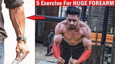 HUGE FOREARM WORKOUT | Top 5 Forearm Exercise at Home/Gym - YouTube | arms | Pinterest | Forearm workout, Gym and Exercises