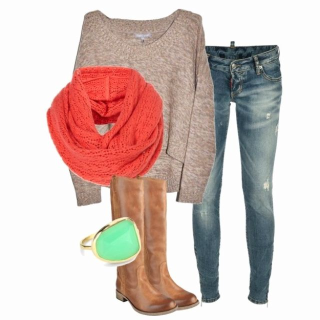 Perfect for fall.: Fall Clothing, Colors Combos, Dreams Closet, Fall Wint, Fall Outfits, Winter Outfits, Fall Fashion, Scarfs, Boots