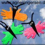 Sommerfuglene lavede børnene til deres fædre til fars dag )  Find skabelonerne og vejlednigen lige her:    http://agnesingersen.dk/blog/haandsommerfugle  #kreativmedbørn #diy #childrencraft #kidscraft #kidsprojekt #craftsforkids #sommeride #summercraft #sommerfugl #butterfly