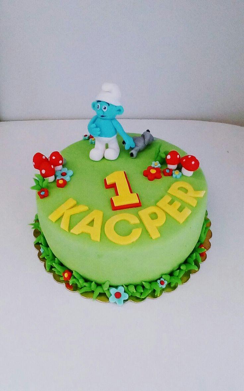 Tort urodzinowy smerf