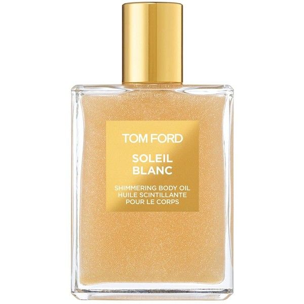 Tom Ford Soleil Blanc Shimmering Oil 100ml found on Polyvore featuring beauty products, fragrance, beauty, tom ford, eau de perfume, tom ford perfume, tom ford fragrance and body oil fragrances