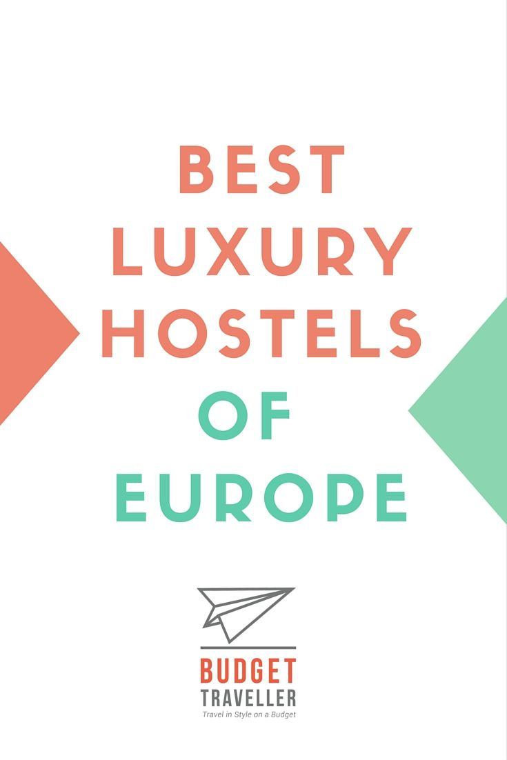 Visiting Europe soon? Here is a definitive list of the best hostels in Europe to checkout for your next trip.