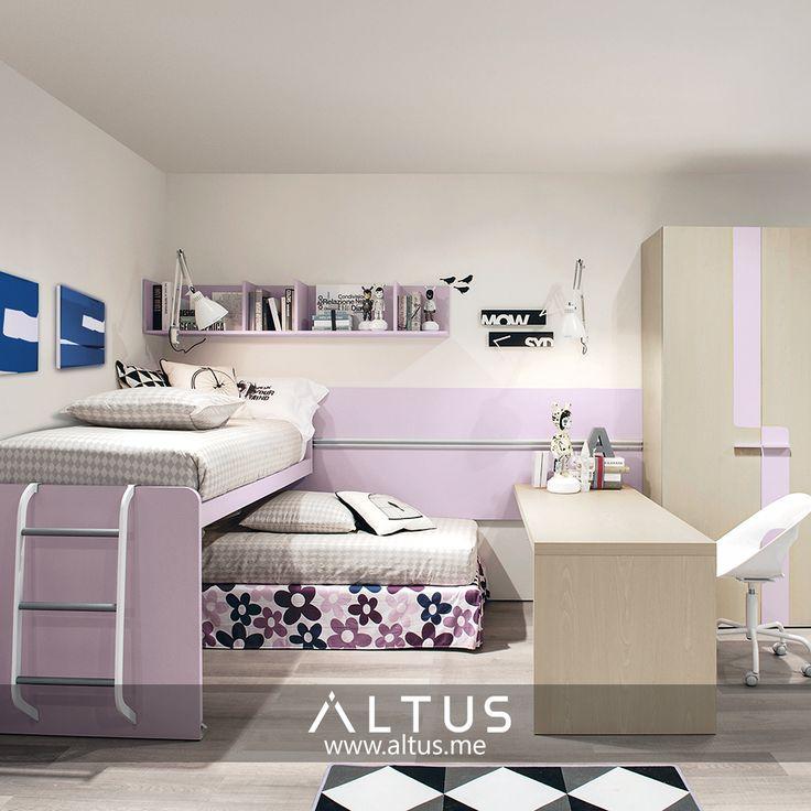 Zalf. Children's room furniture. Made in Italy. www.Altus.me #luxury #furniture #design #altus #beirut #Lebanon #madeinitaly #children #parents #kids #room #design #home #interiordesign