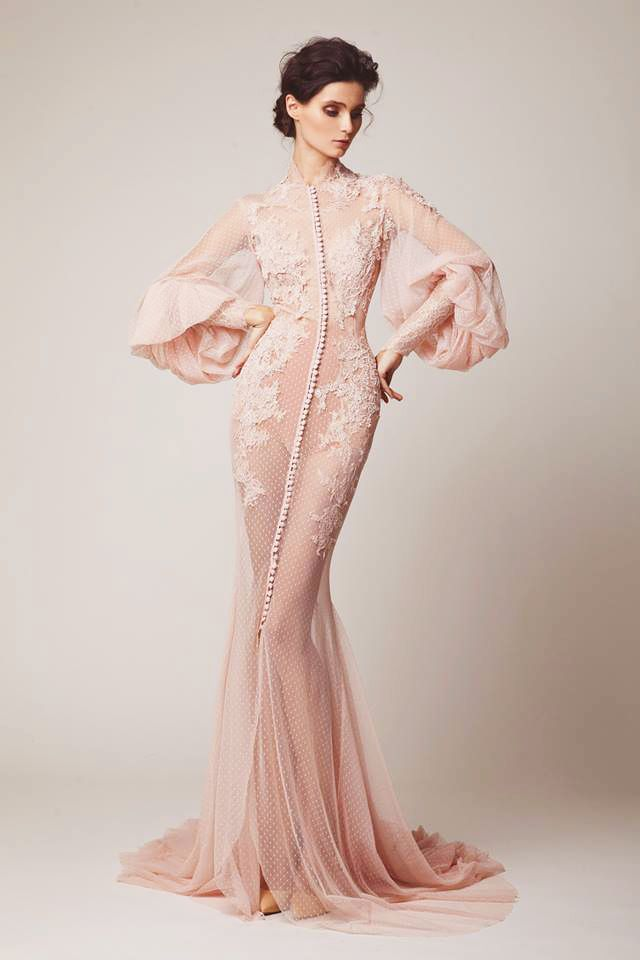 """everythingasoiaf: """"What a Braavosi courtesan would wear """"Elio Abou Fayssal Couture, Spring 2015 """" """""""
