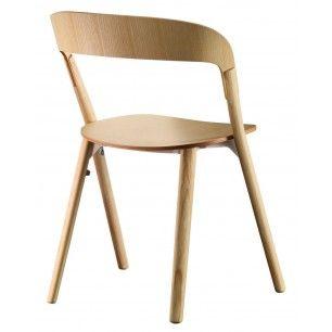Koop nu €419,00   Magis - Pila Chair - Naturel   Laagste Prijs Garantie   Designerstoelen.nl