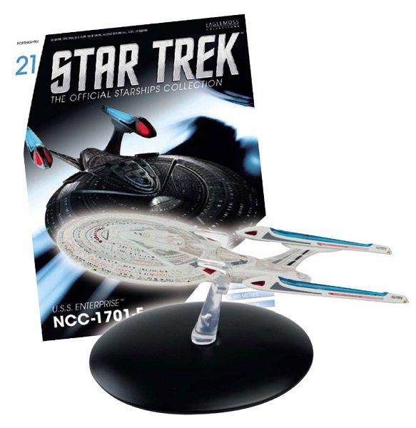 Pré-Encomenda:  Star Trek Official Starships Collection Magazine with Model 21 USS Enterprise  Para mais informações clica no seguinte link: http://buff.ly/1ps7qWz  #ToyArt #Eaglemoss #StarTrek